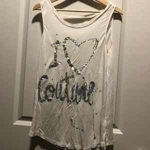 Juicy couture white tank
